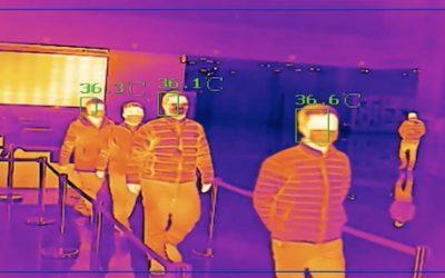 La caméra thermique pour dépister la fièvre